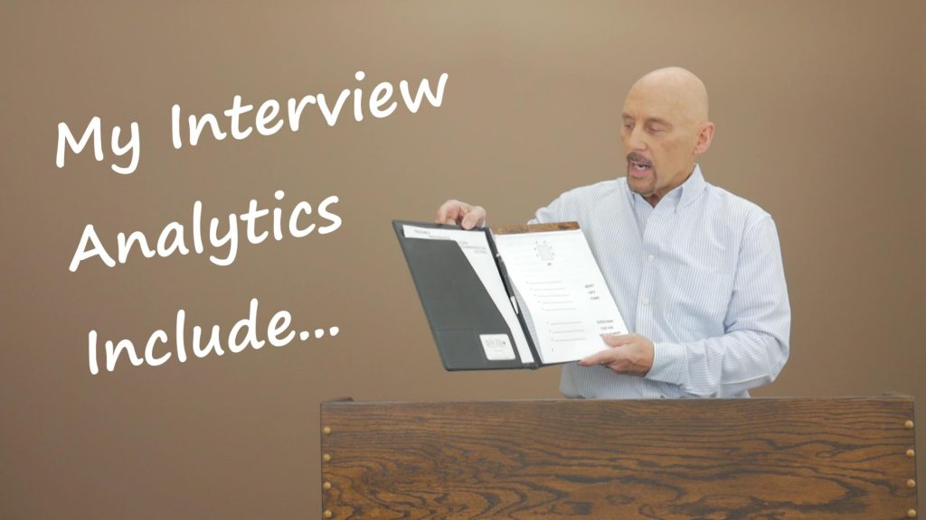 What Your Dedicated Interview Folder Should Include